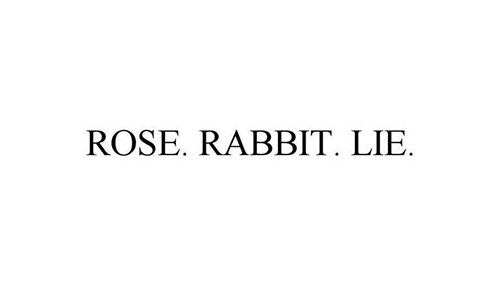 Image for Rose Rabbit Lie